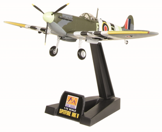 Spitfire Mk V AB910 R.A.F. D Day Bachmann Exclusive