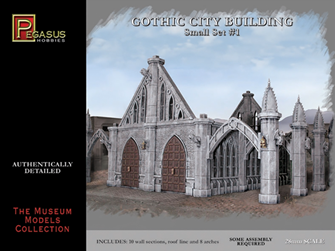 Gothic City Building (Small Set 1)