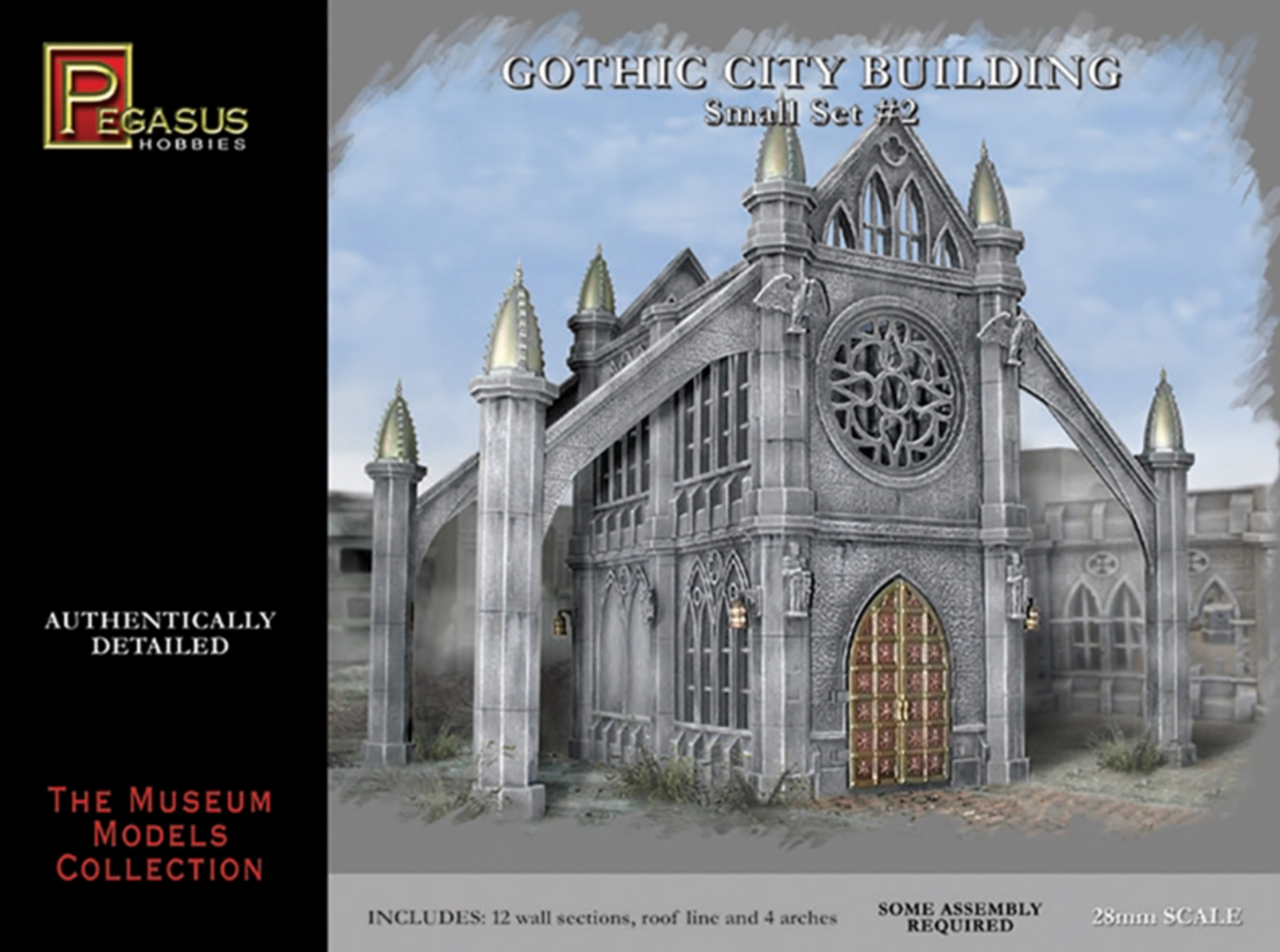 Gothic City Building (Small Set 2)
