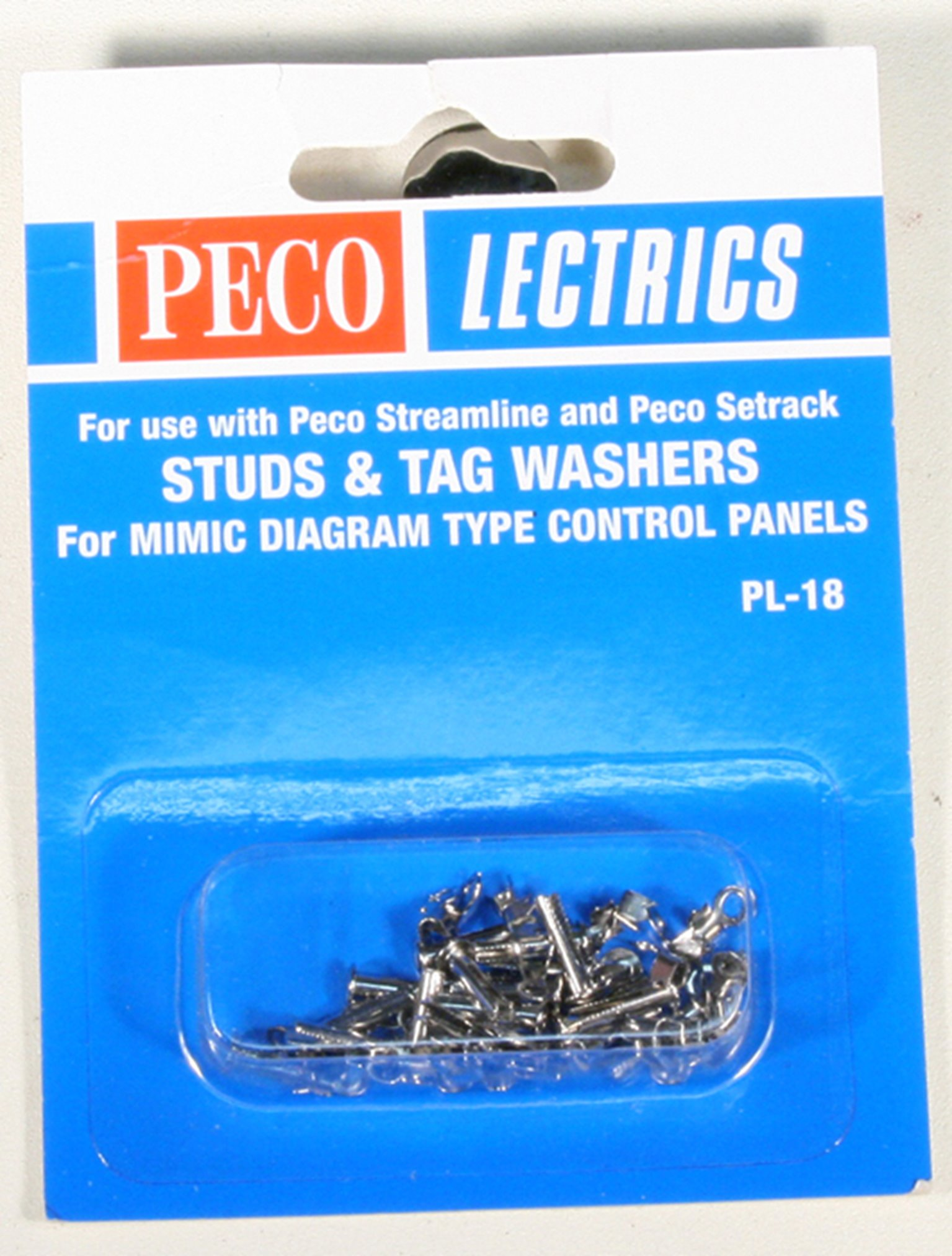 PL18 Studs and Tag Washers