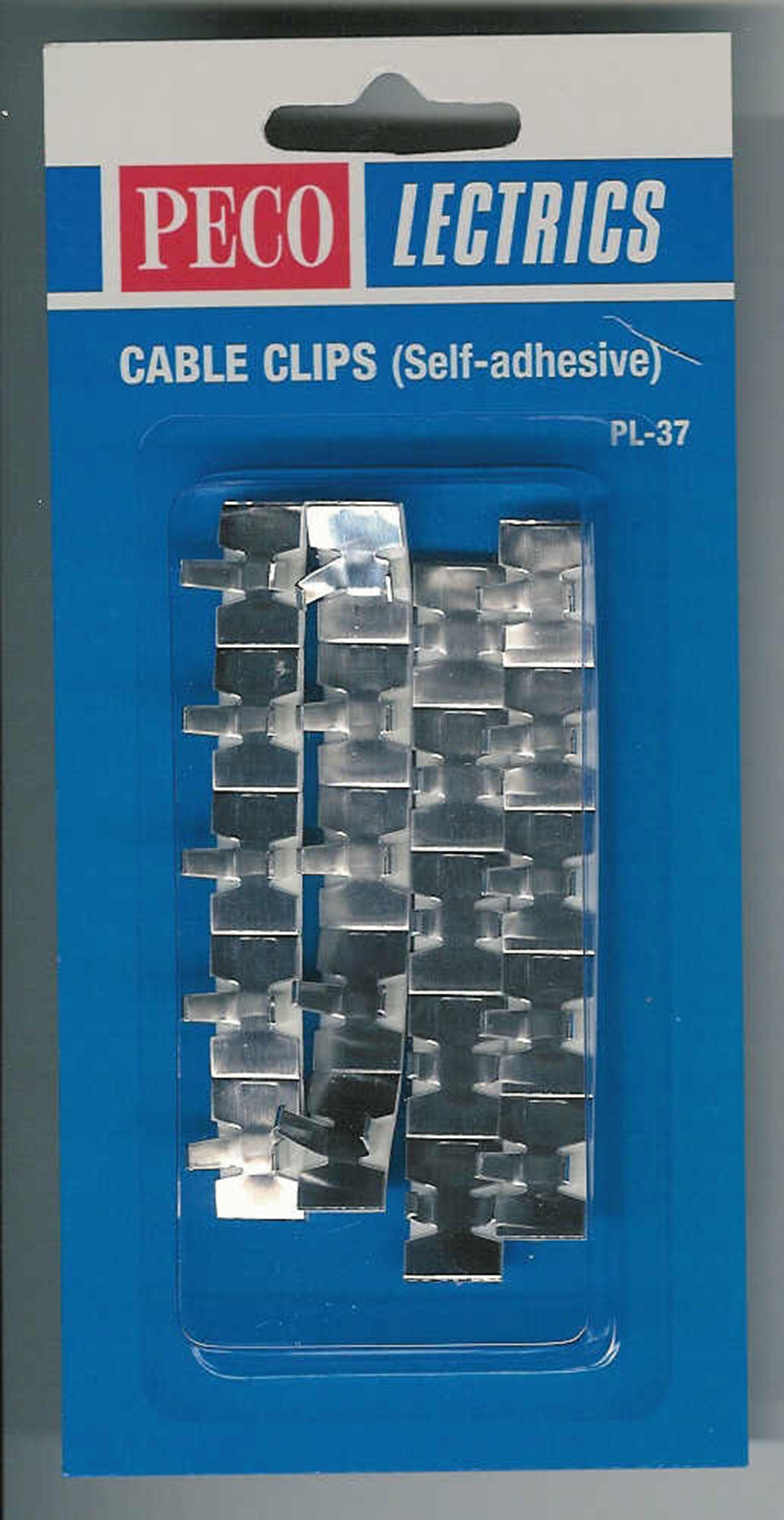 PL37 Cable Clips (Self-adhesive)