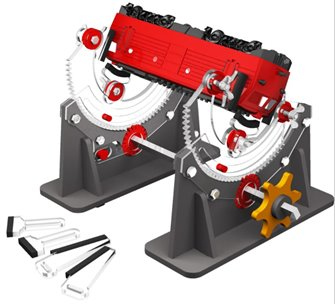 Multi Angle Rotating Loco Cradle