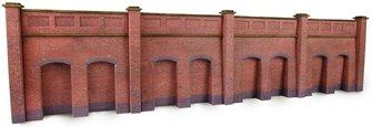 Metcalf Brick Retaining Walls N scale