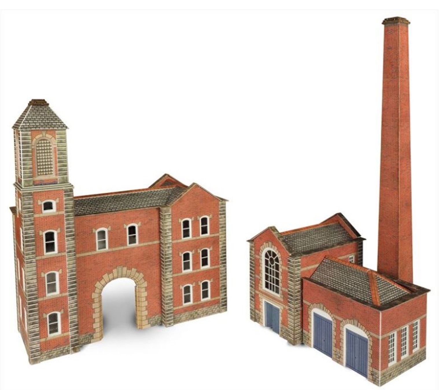 Factory Entrance & Boiler House