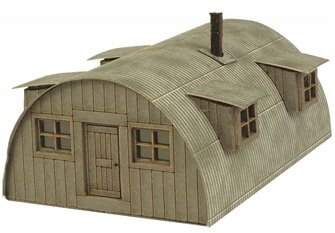PN815 N Scale Nissen Hut