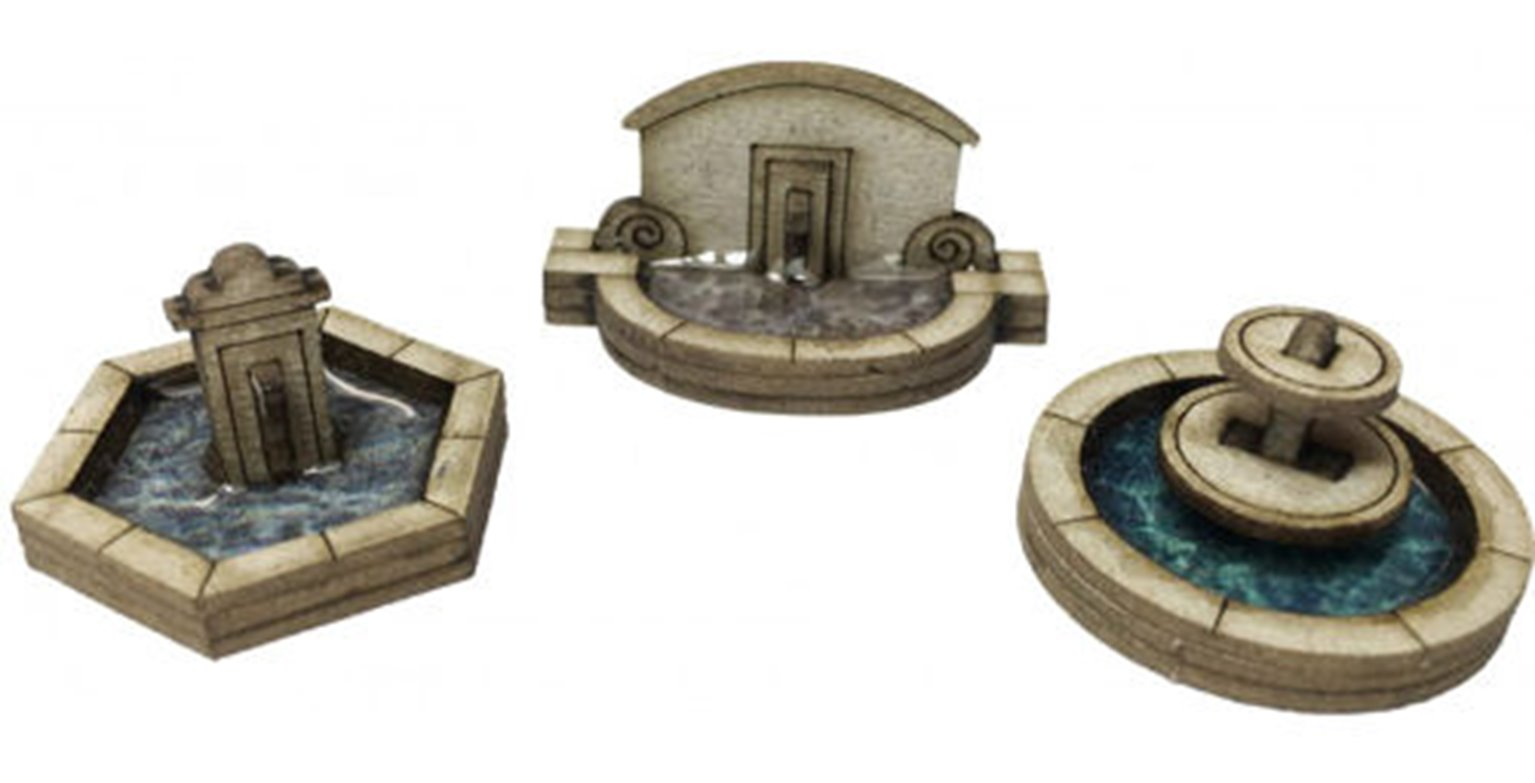 Stone Fountain Card Kit