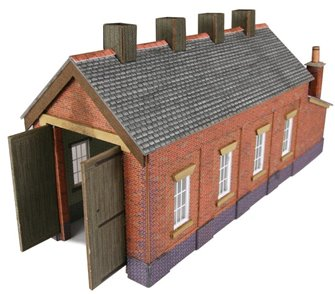 Red Brick Single Track Engine Shed