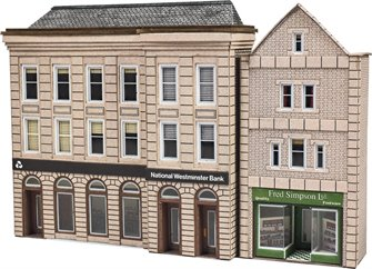 PN971 Low Relief Bank & Shop