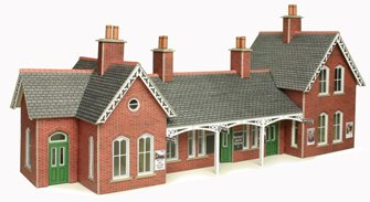 Country Station Building Kit