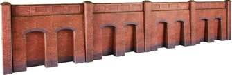 Retaining Wall in Red Brick