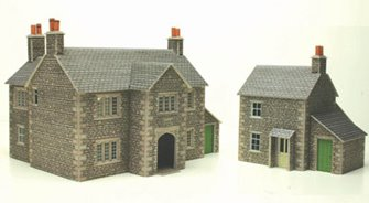 Manor Farm House Building Kit