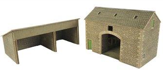 Manor Farm Barn Building Kit