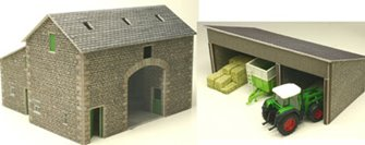 Manor Farm Barn Building Kit