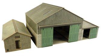 Manor Farm Buildings Kits