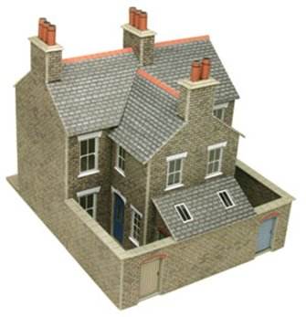 Terraced Houses in Stone Building Kit