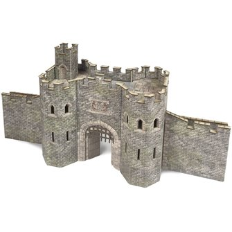 N Gauge Castle Gatehouse