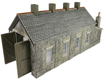 Single Track Engine Shed-Stone