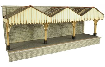 Wall Backed Platform Canopy