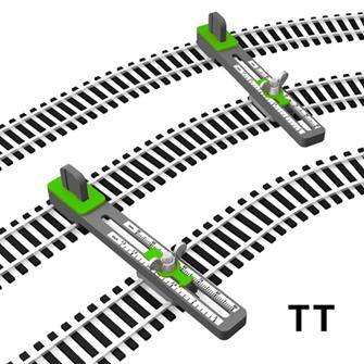 TT Scale Adjustable Parallel Track Tool