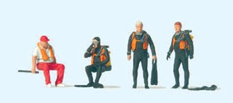 Divers Figure Set
