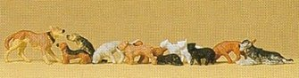 Dogs And Cats Standard Figure Set