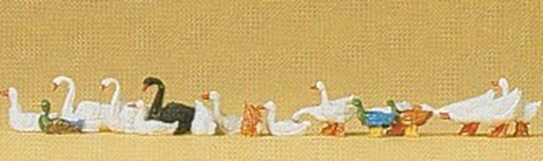 Preiser 14167 Ducks Geese & Swans
