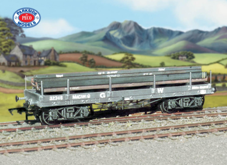 GWR Bogie Bolster 'A' (with girder load) Wagon kit