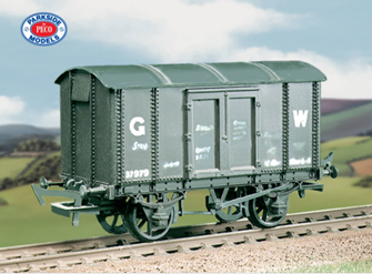 563 GWR Iron Mink 'A' (M/W) Wagon Kit