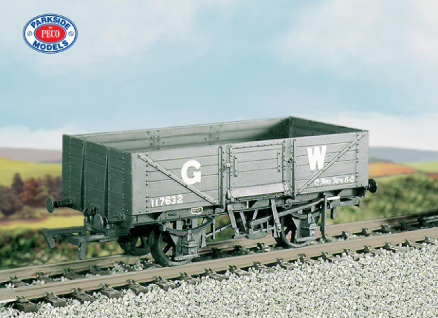GWR 5 Plank Open Wagon Kit