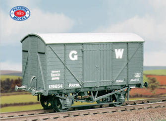 GWR 12 ton Box Van (M/W) Wagon Kit