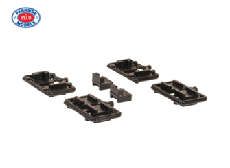 Mounting Blocks for Bachmann 36-027 Mk2 Couplings NEM Shaft (Cranked) with pocket (x10)