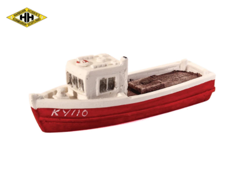 Harburn Hamlet HN650 Fishing Boat red/white