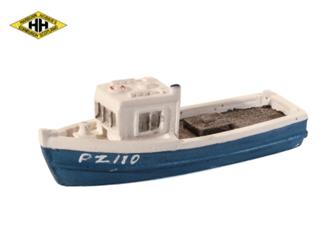 Harburn Hamlet HN651 Fishing Boat blue/white