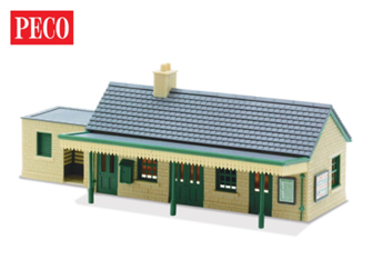 LK13 Lineside Kit - Country Station Building, stone type