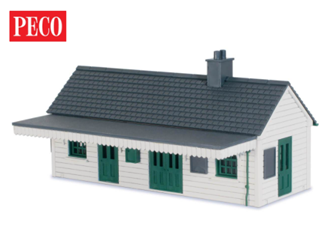 Peco LK-200 Lineside Kit Wooden Station
