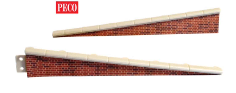 Platform Edging Ramps, brick type