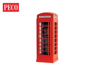 Peco LK-760 O Gauge Lineside kits Telephone Kiosk x 2