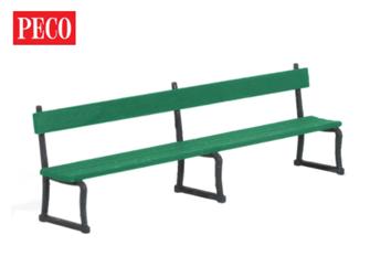 Peco LK-763 Station Seats (4) SR/BR MODERN TYPE