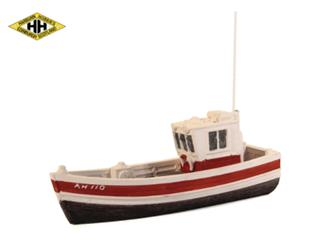 Small Fishing Boat, wheelhouse aft