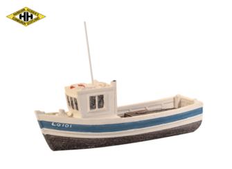 Small Fishing Boat, wheelhouse forward (colours vary)