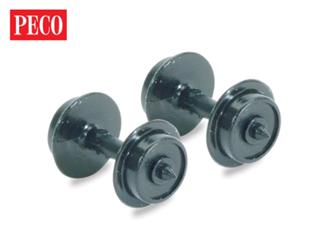 Disc Wheels on axles, Hardlon Mouldings