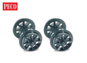 Spoked Wheels on axles, Hardlon Mouldings
