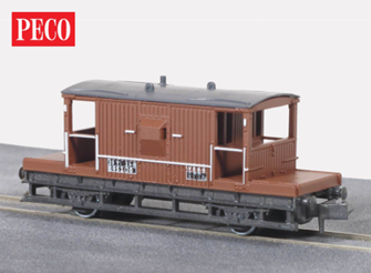 Brake Van, BR bauxite, 15ft Wheelbase