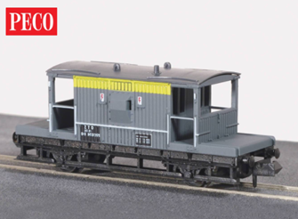 BR-CE Brake Van Yellow/Grey