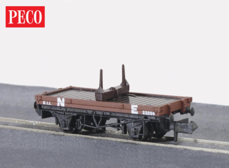 NR39E NE Bauxite Bolster Wagon 10ft Wheelbase