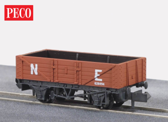 NR40E 5 Plank Open LNER Red Oxide