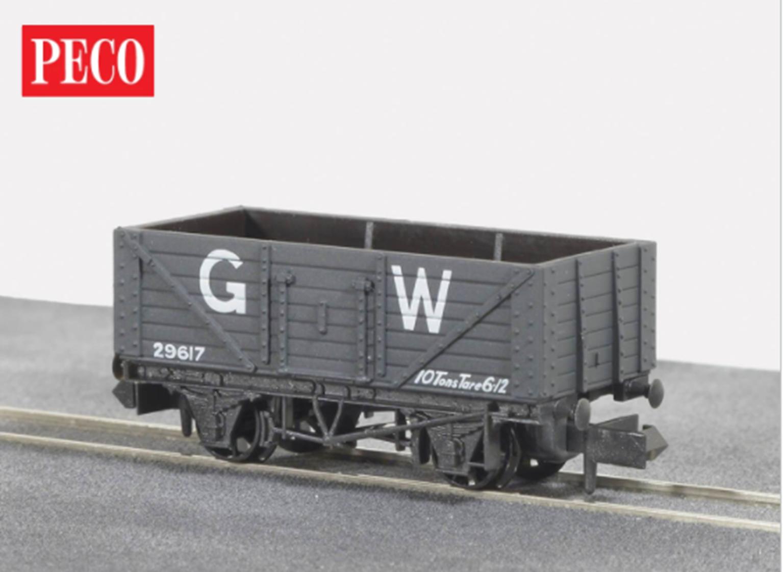 NR41W 7 Plank Coal Wagon, GW Dark Grey