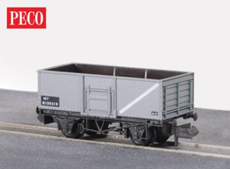 BR mid Grey, Butterley Steel Type Coal Wagon