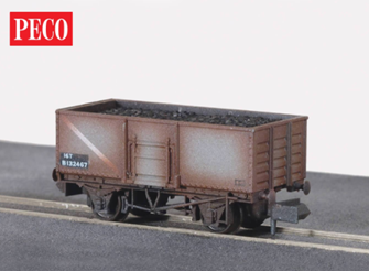 Coal, Butterley Steel type, BR, mid grey (Weathered)