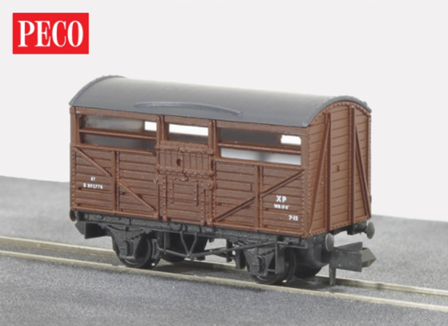 BR Brown Cattle Truck B893778